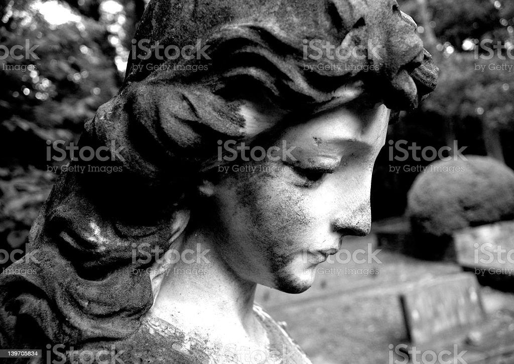 Graveyard Beauty royalty-free stock photo