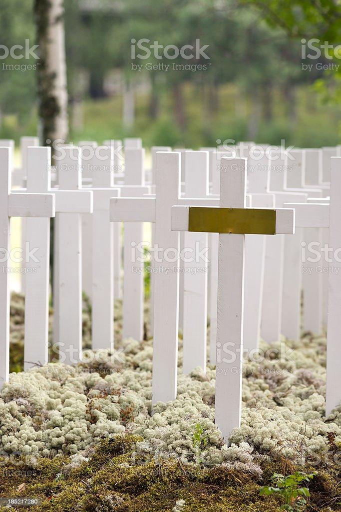 Friedhof in Karelia – Foto
