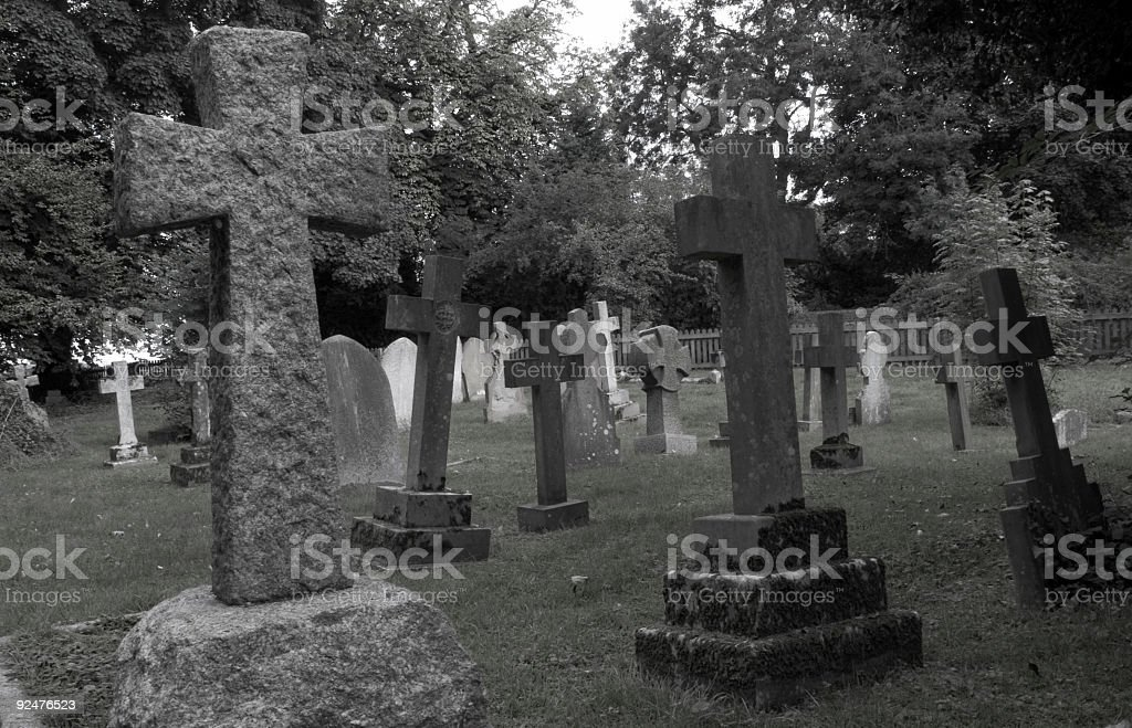 Friedhof Lizenzfreies stock-foto