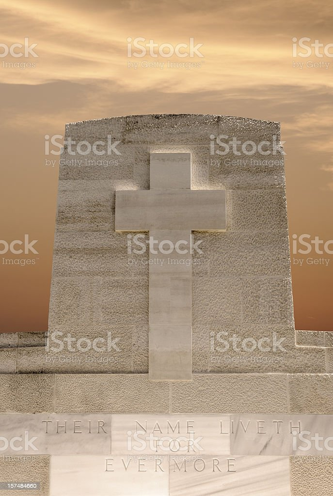 Graveyard Stone royalty-free stock photo