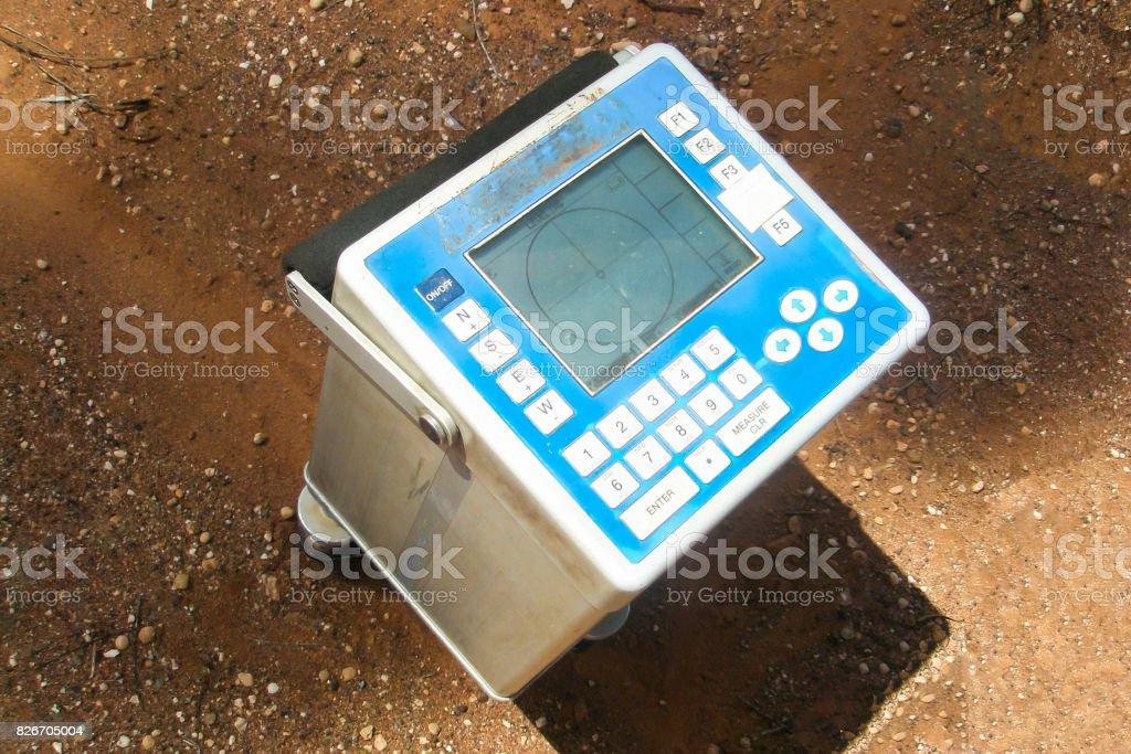 Gravimeter Instrument stock photo