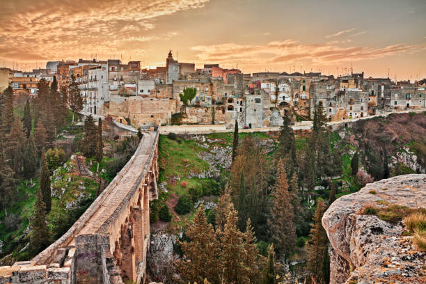 Gravina in Puglia, Bari, Italy stock photo