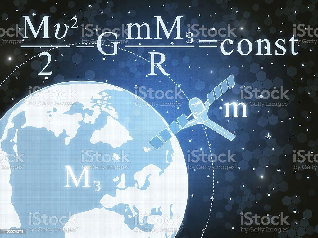 Gravitation royalty-free stock photo