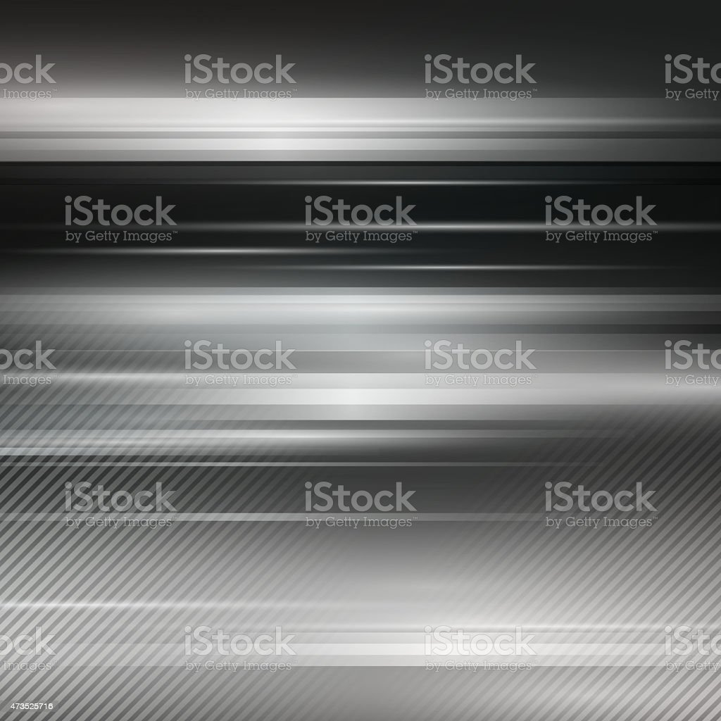 Gray abstract metallic background. Vector illustration stock photo