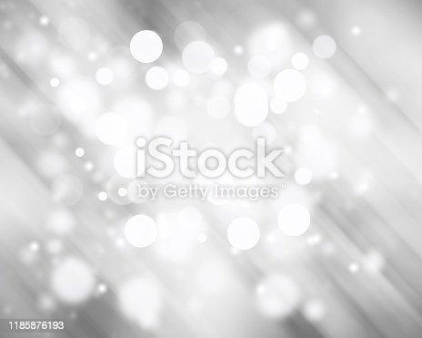 530427918 istock photo Gray abstract texture background with white bokeh light Christmas new year snowflake blurred beautiful shiny lights use wallpaper backdrop and your product. 1185876193