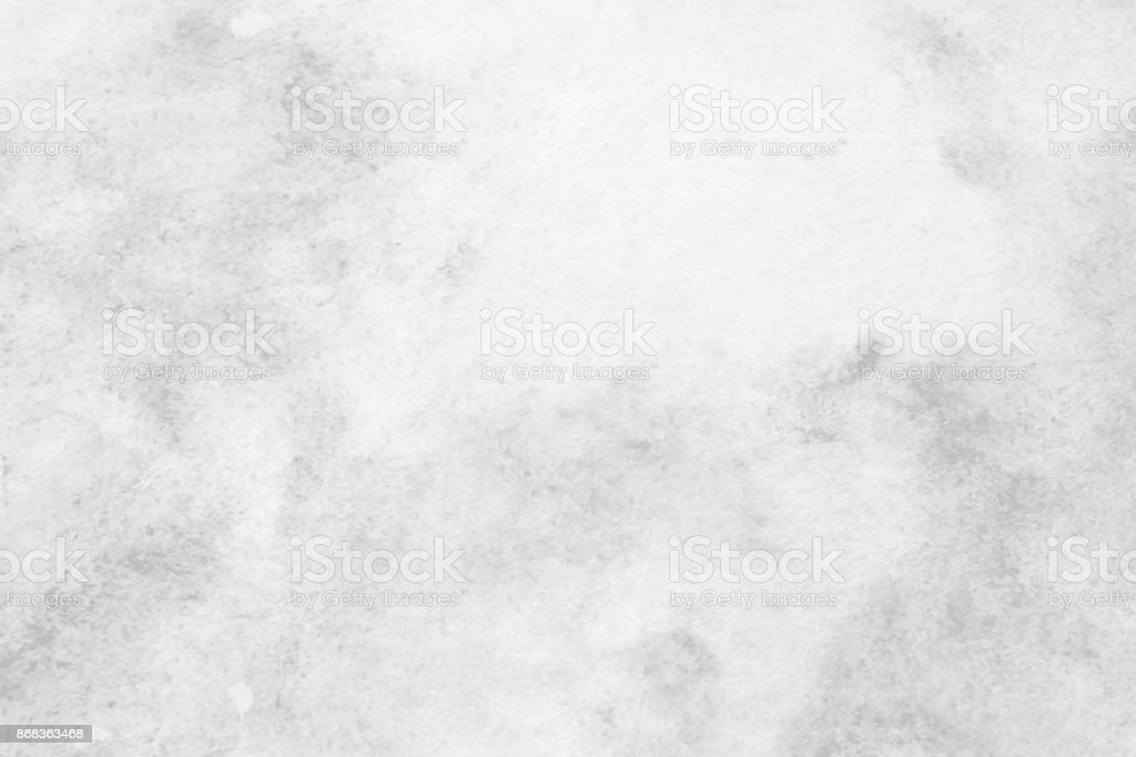 Gray abstract watercolor painting textured on white paper background stock photo