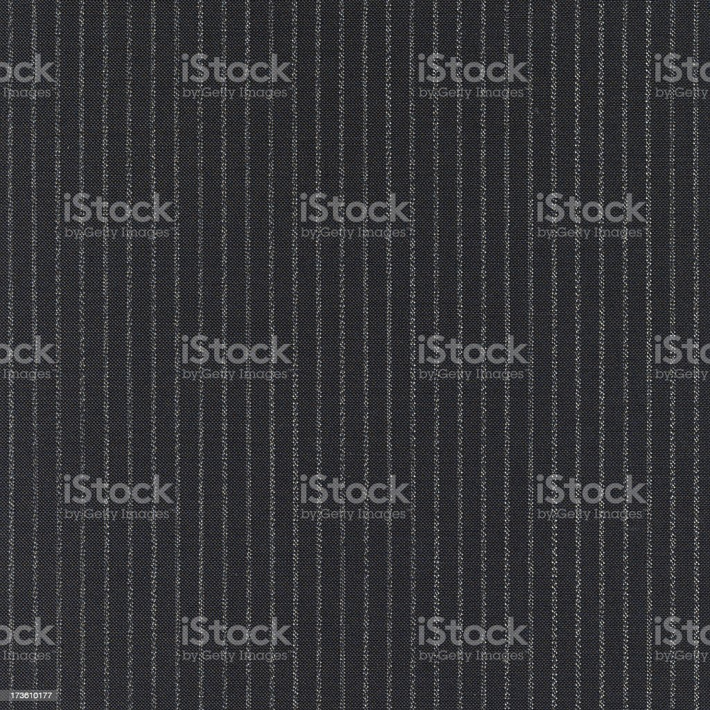 Gray and black pinstripe cloth background stock photo