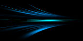 istock Gray and blue speed abstract technology background 1296639708