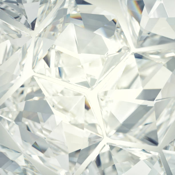 Gray and white crystal background stock photo