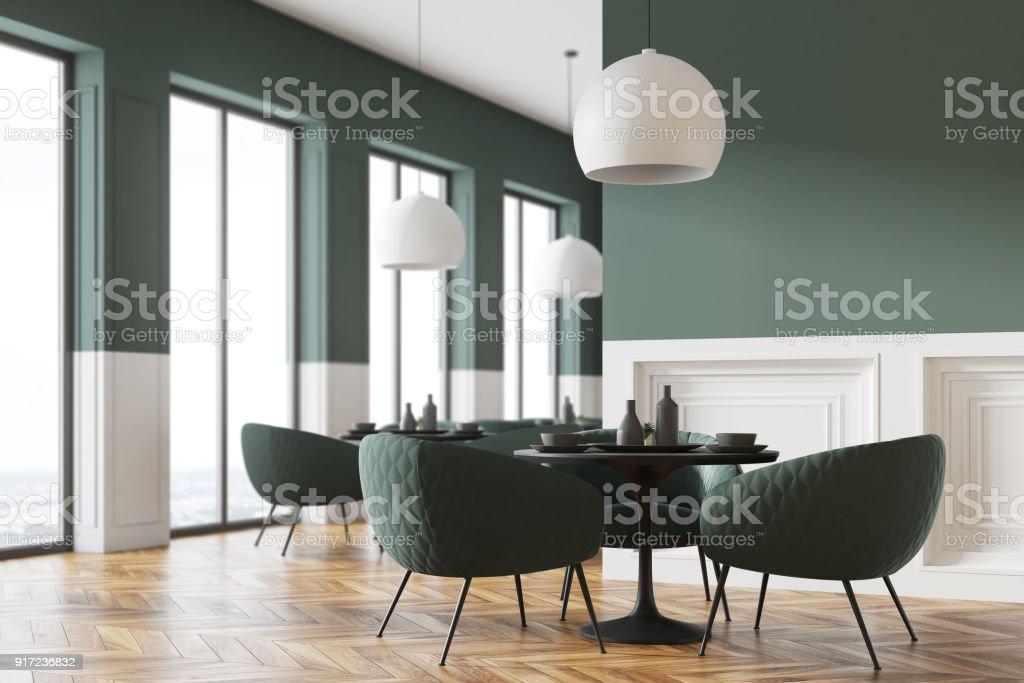 e440ef0930b1 Esquina Gris Y Blanca Restaurante Foto de stock y más banco de ...