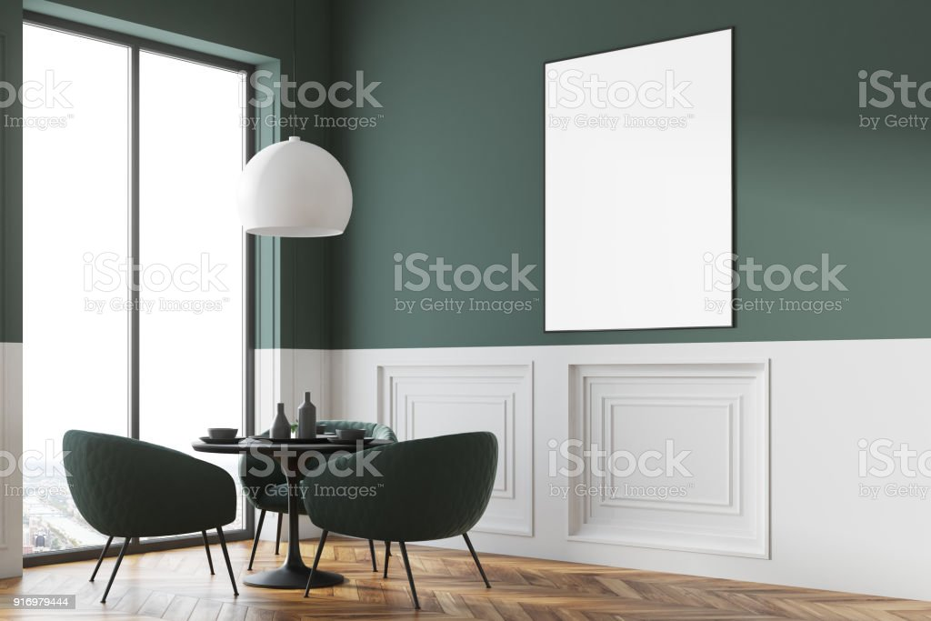 ffb4a2fa7a10 Cartel esquina restaurante gris y blanca, cerca foto de stock libre de  derechos