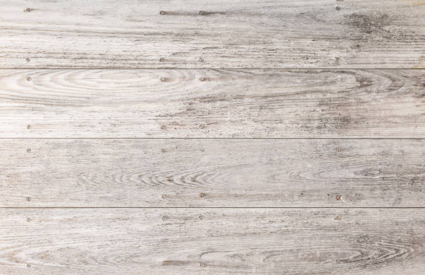 gray and white wood background texture - surface level stock photos and pictures