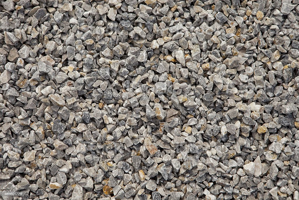 Gray and Yellow Gravel royalty-free stock photo