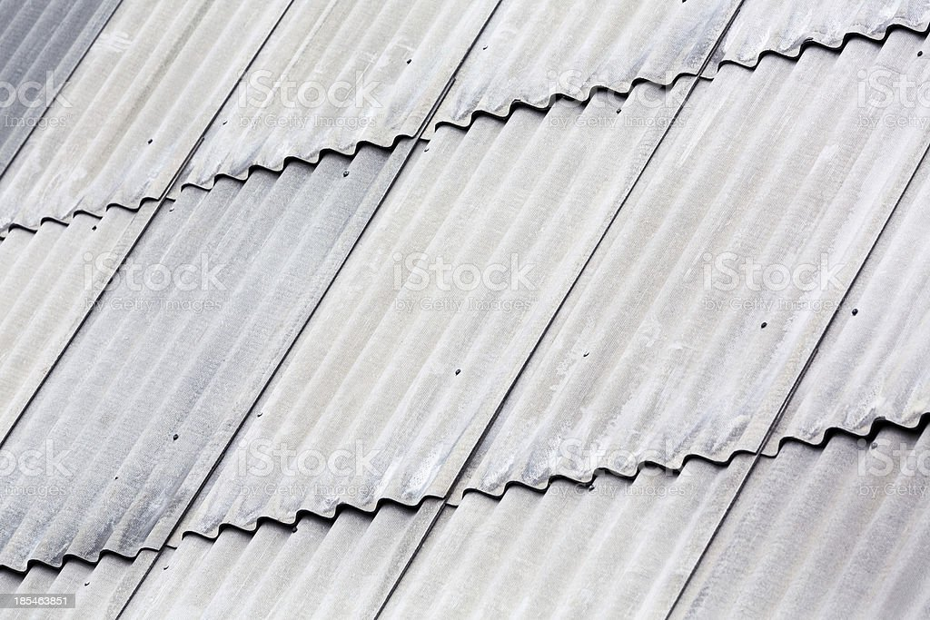 Amianto telhado cinza - foto de acervo