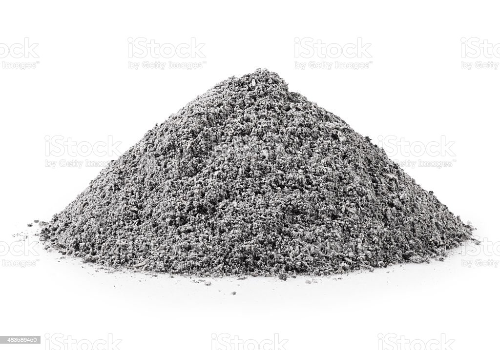 gray ash stock photo