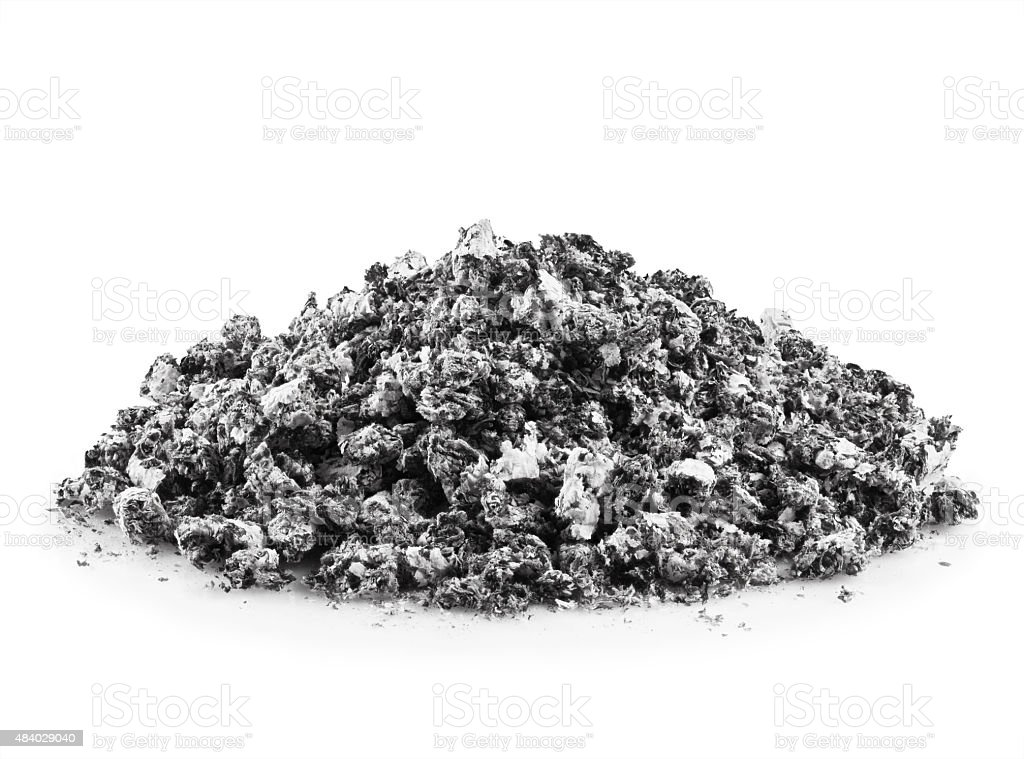 gray ash stock photo