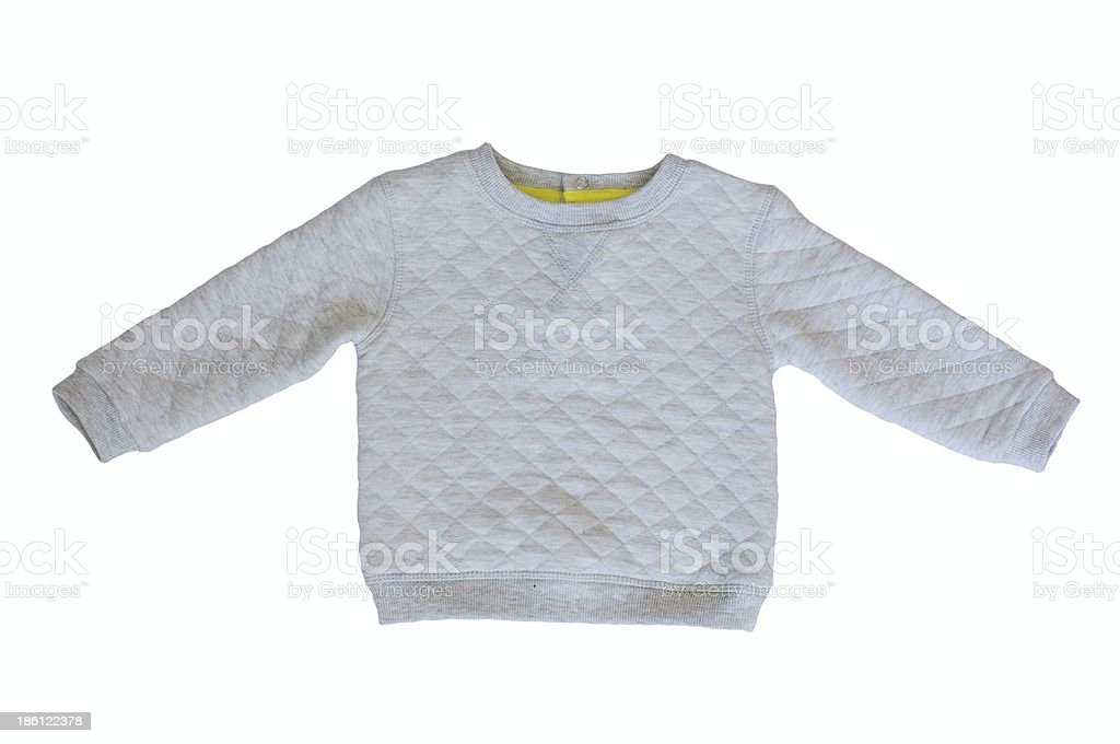 gray baby jacket stock photo