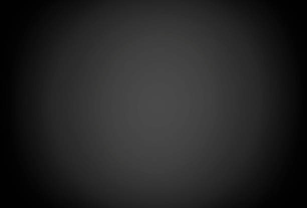 Gray background, black and gradient and light gray, black stock photo