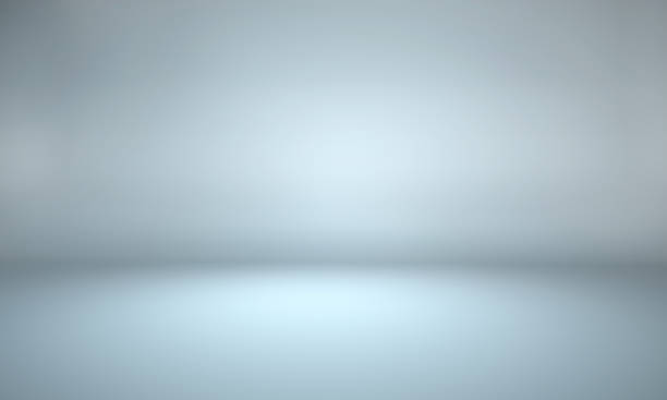 Gray background - empty background - empty studio room 3d studio stock pictures, royalty-free photos & images
