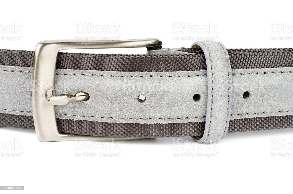 Gray Belt royalty-free stock photo