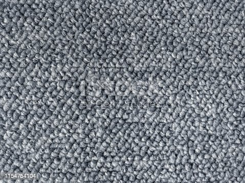 Close up gray berber carpet seamless texture