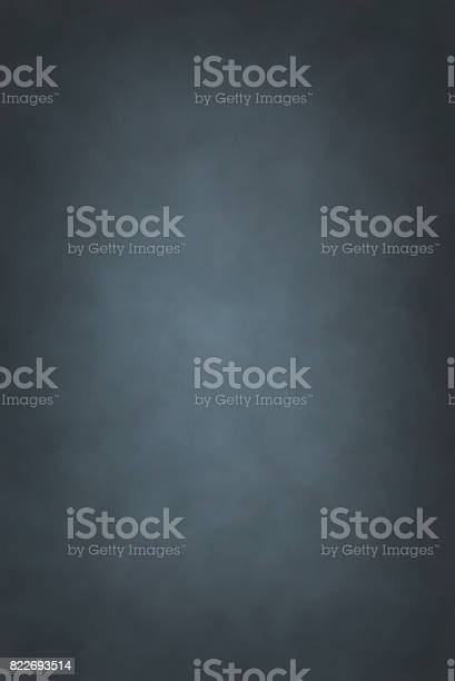 Photo of Gray blue hand painted backdrop