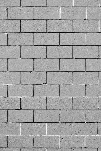 graue wand hintergrund-xxxl-foto - betonblock wände stock-fotos und bilder