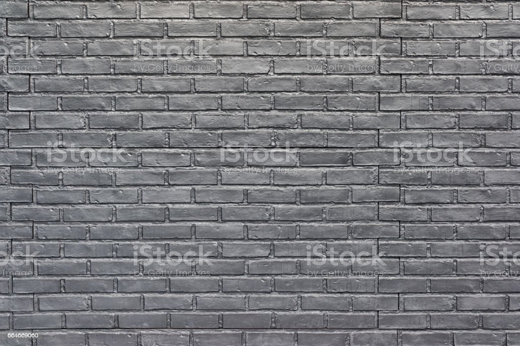 Gray Brick Wall For Background Wallpaper Textured Painted Brick Stock Photo Download Image Now Istock