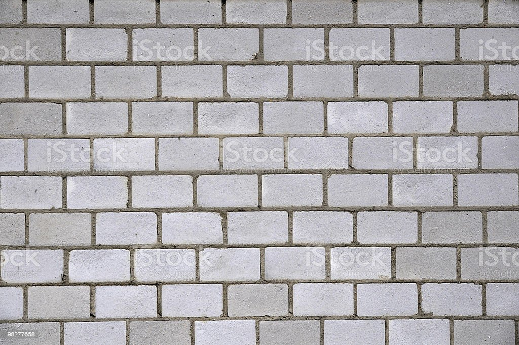 gray brick wall royalty-free stock photo