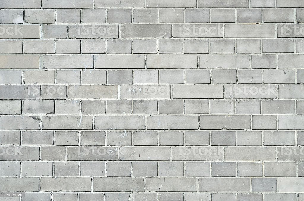 Gray brickwall surface stock photo