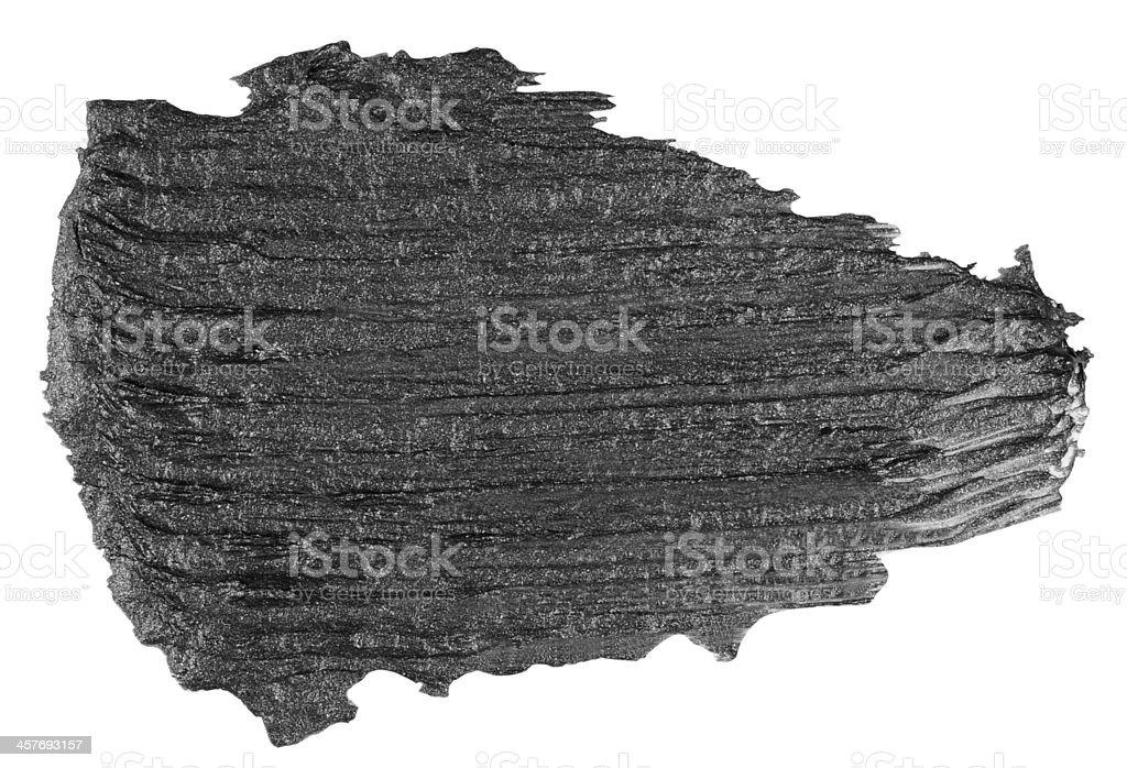 Gray Brush Stroke royalty-free stock photo