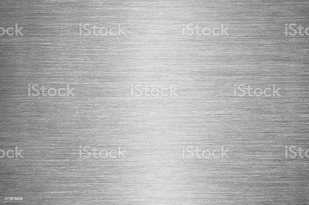 Gray Brushed Metal Texture Background - Steel or Aluminium​​​ foto