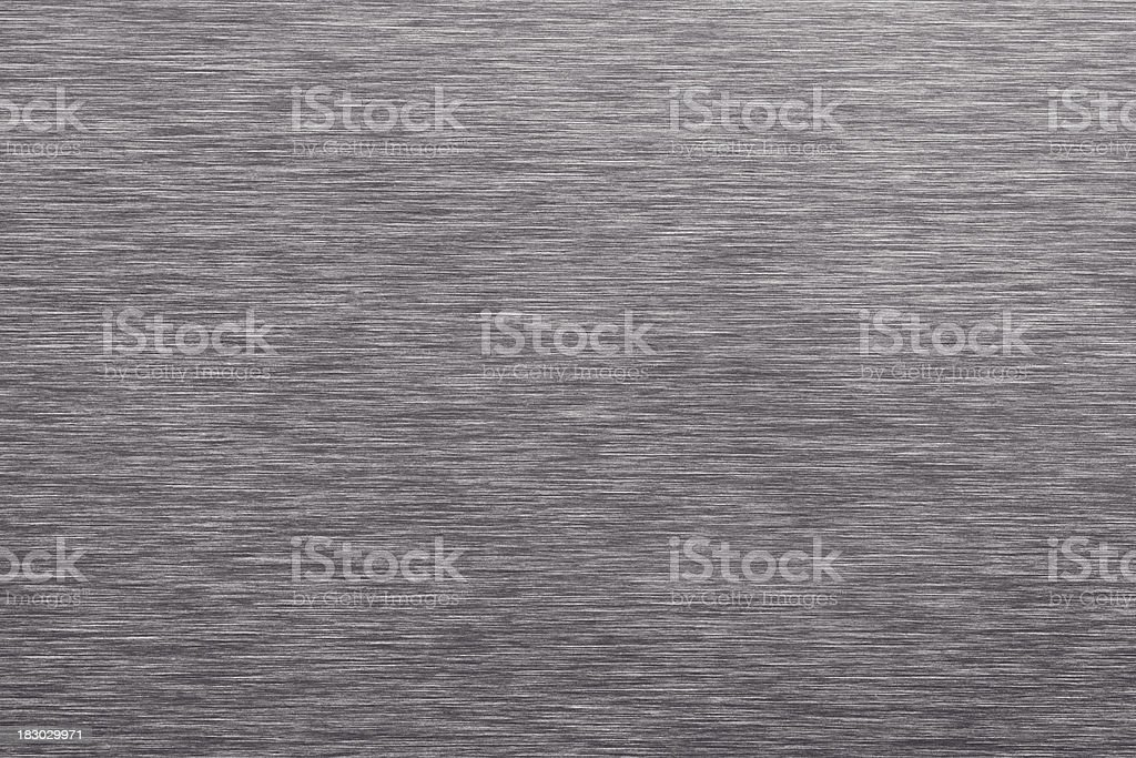 Gray Brushed Sheet Metal Background stock photo