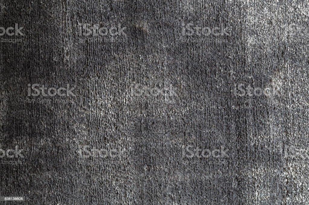 Grauen Teppich Textur im Detail Hintergrund – Foto
