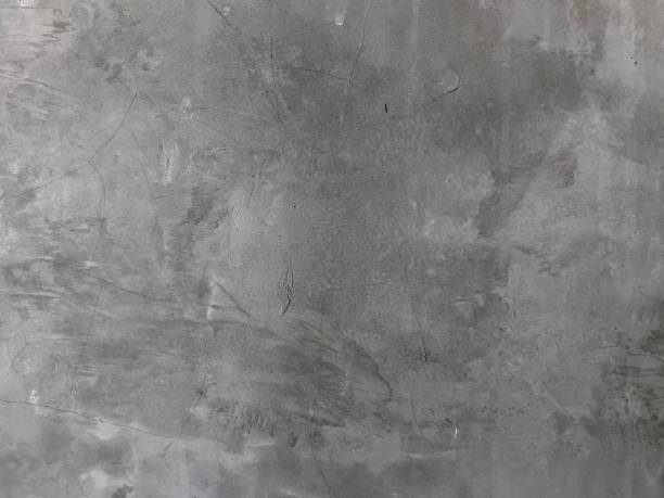 Gray cement wall for home decor stock photo
