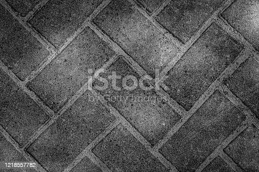 Gray ceramic mosaic tiles texture