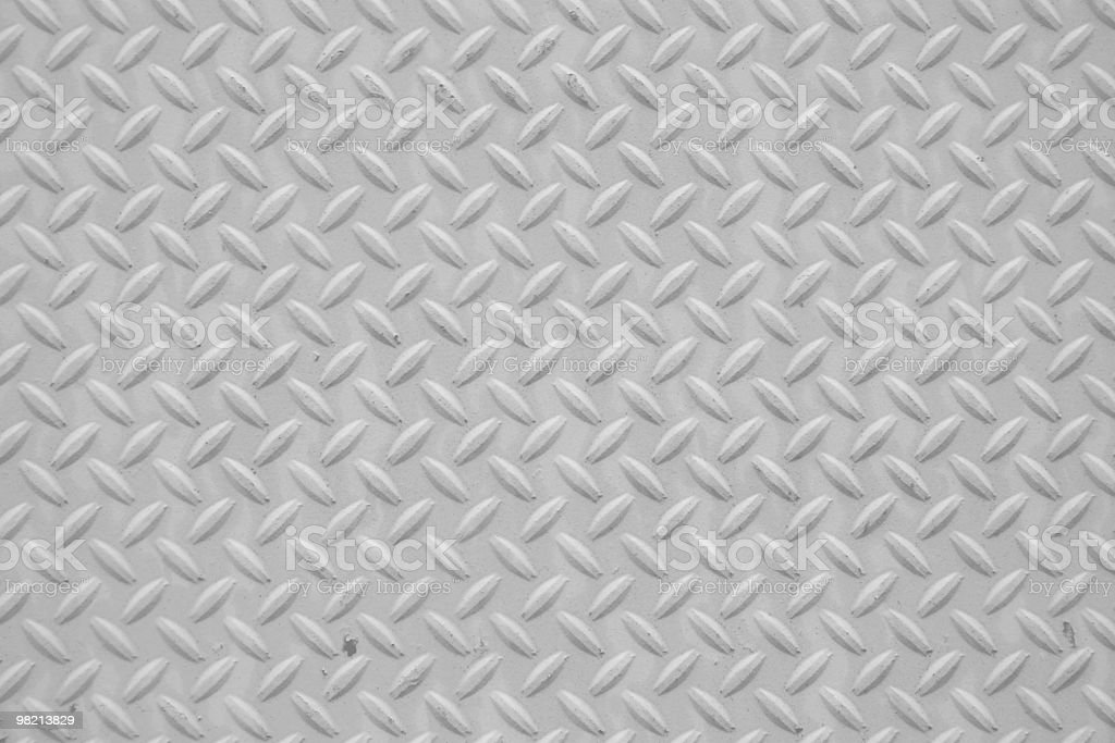 Gray Checkerplate royalty-free stock photo