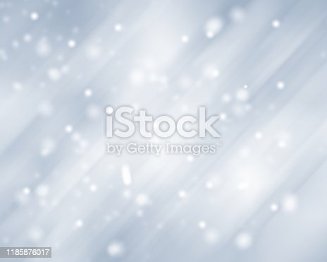 530427918 istock photo Gray Christmas abstract texture background with snowflakes winter and bokeh lights. blurred beautiful shiny Christmas new year, use wallpaper backdrop and your product. 1185876017