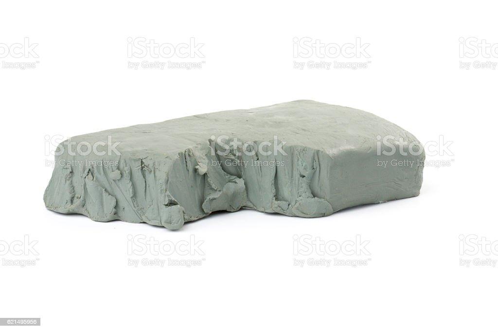 Gray clay photo libre de droits