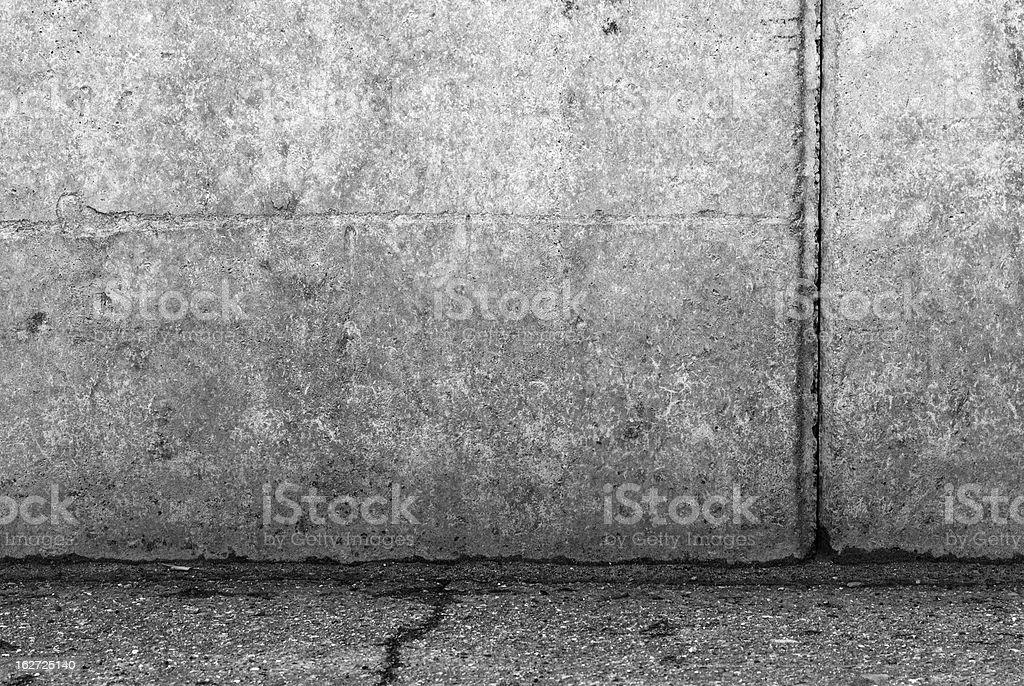 Gray concrete blocks background royalty-free stock photo