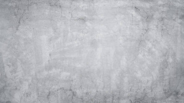 Gray concrete or cement wall Texture of old gray concrete wall as an abstract background cement floor stock pictures, royalty-free photos & images
