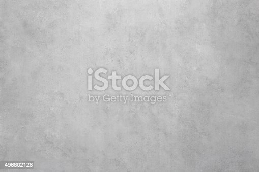 Gray, polished concrete wall texture background