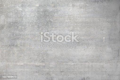 istock Gray concrete wall 1027659470
