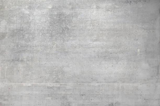 parete in cemento grigio - calcestruzzo foto e immagini stock