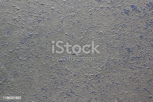 Gray concrete with lavender embedding. Background
