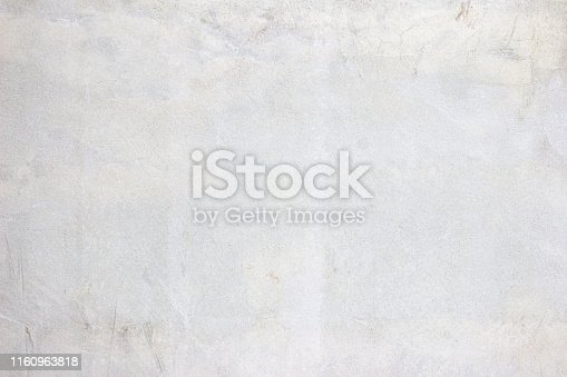 istock Gray concreted wall for interiors or outdoor exposed surface polished concrete. Cement have sand and stone of tone vintage, natural patterns old antique, design floor texture background. 1160963818