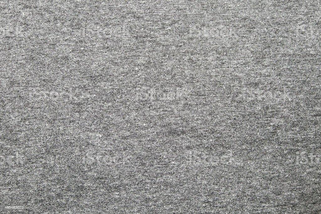Gray dye cotton polyester fabric texture. stock photo