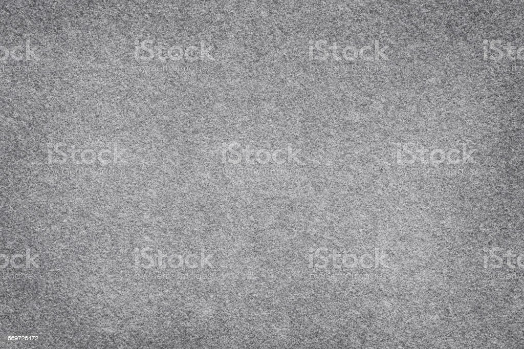Gray felt surface close up. Texture and background - foto de stock