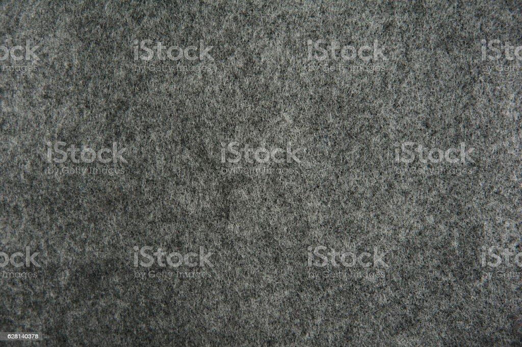 gray felt texture for background stock photo