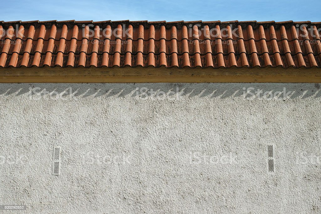 Gray fence wall royalty-free stock photo
